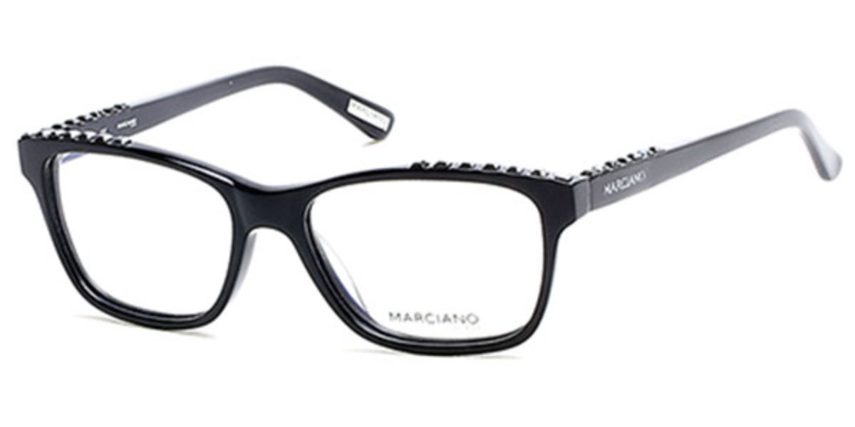 Guess by Marciano New Authentic Black Stones Demo Lenses