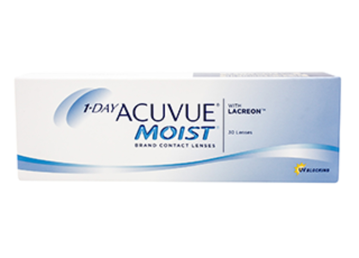 Image of Lenti a Contatto 1-Day Acuvue Moist 30 Pack