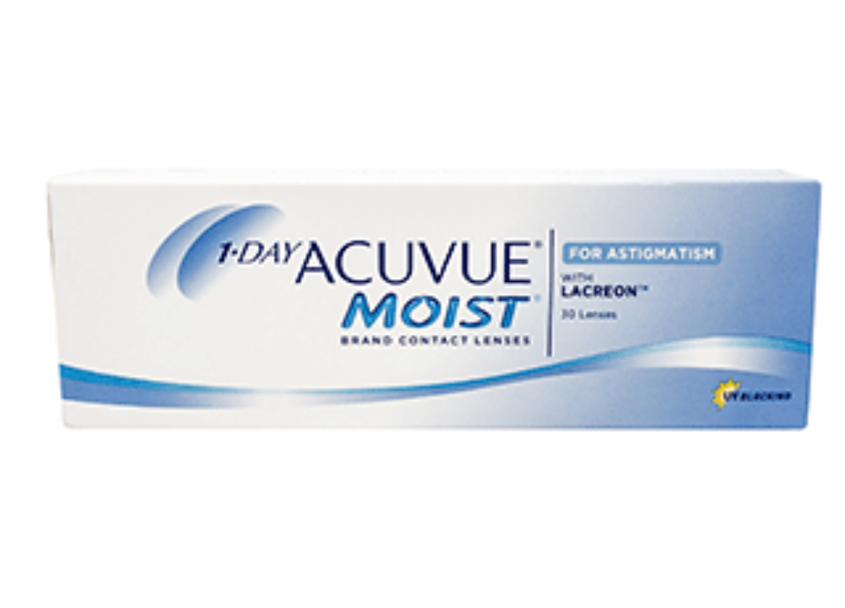 Image of Lenti a Contatto 1-Day Acuvue Moist for Astigmatism 30 Pack