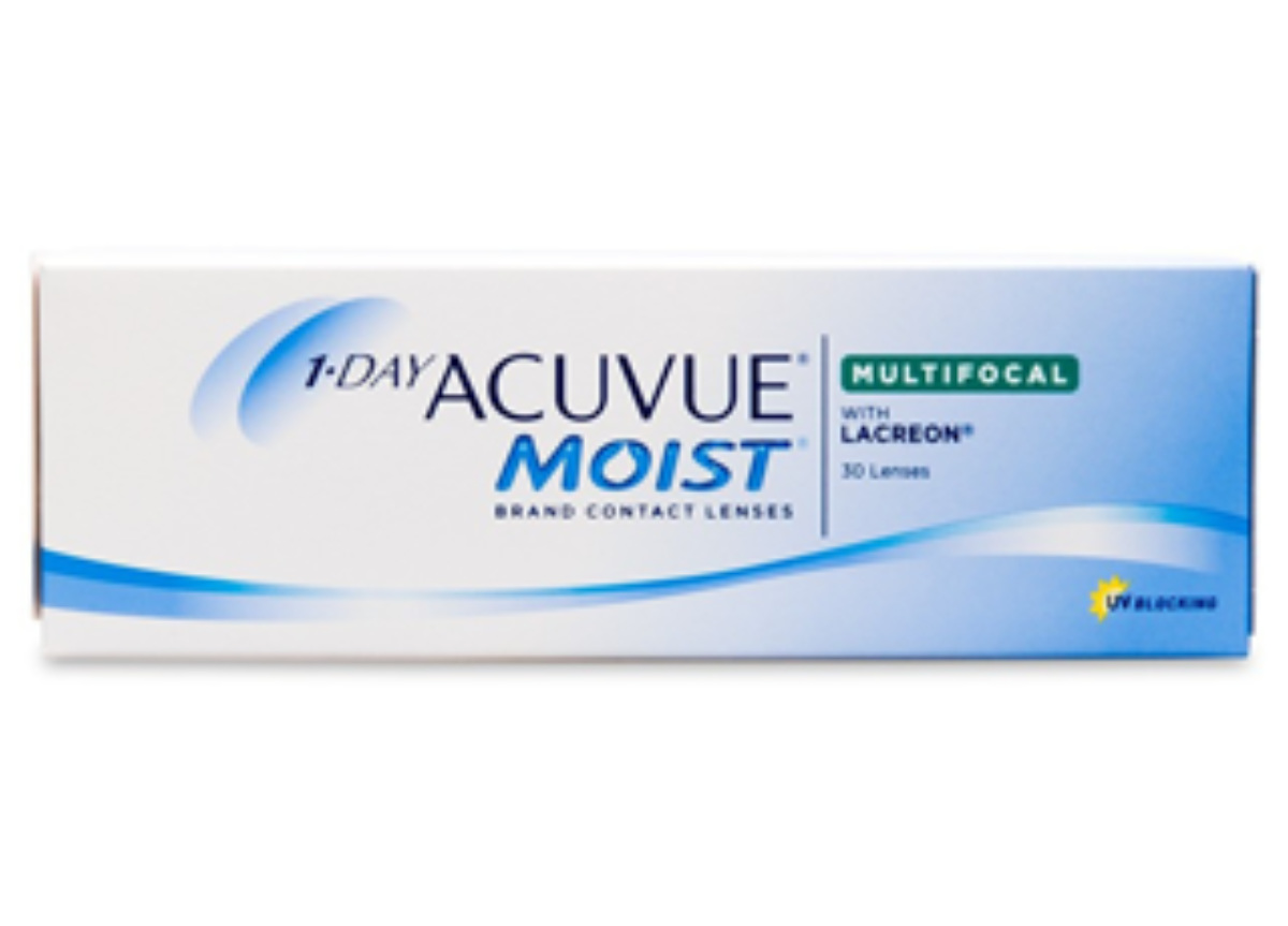 Image of Lenti a Contatto 1-Day Acuvue Moist Multifocal 30 Pack