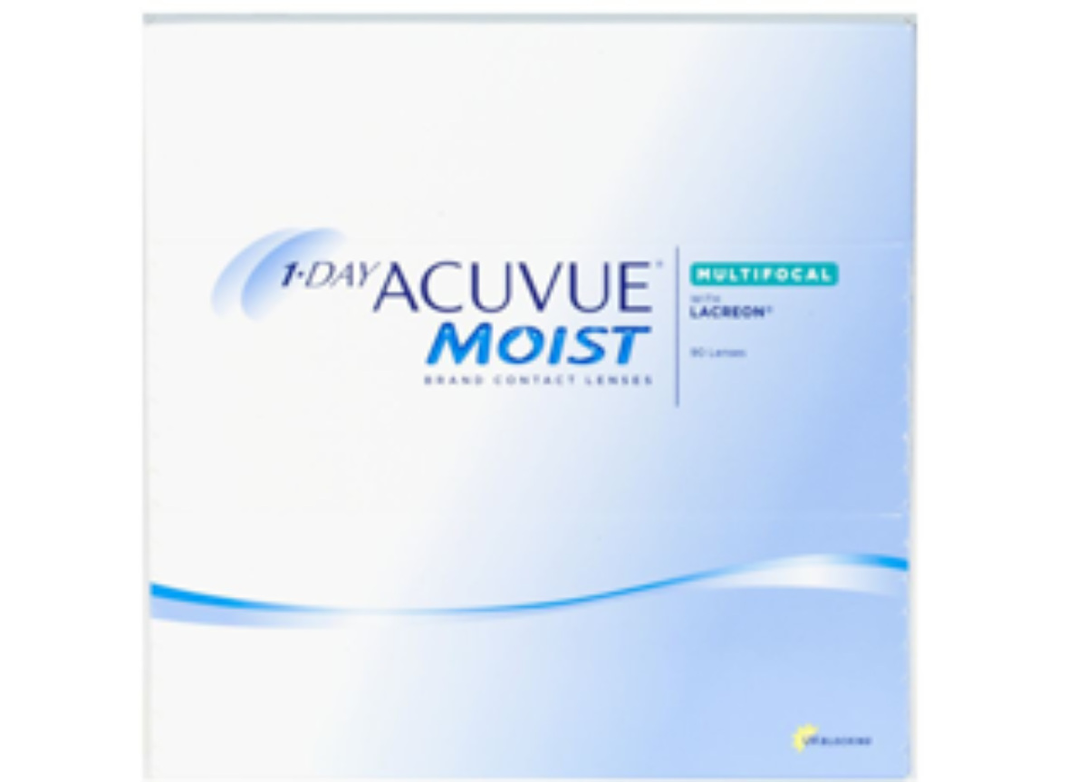 Image of Lenti a Contatto 1-Day Acuvue Moist Multifocal 90 Pack