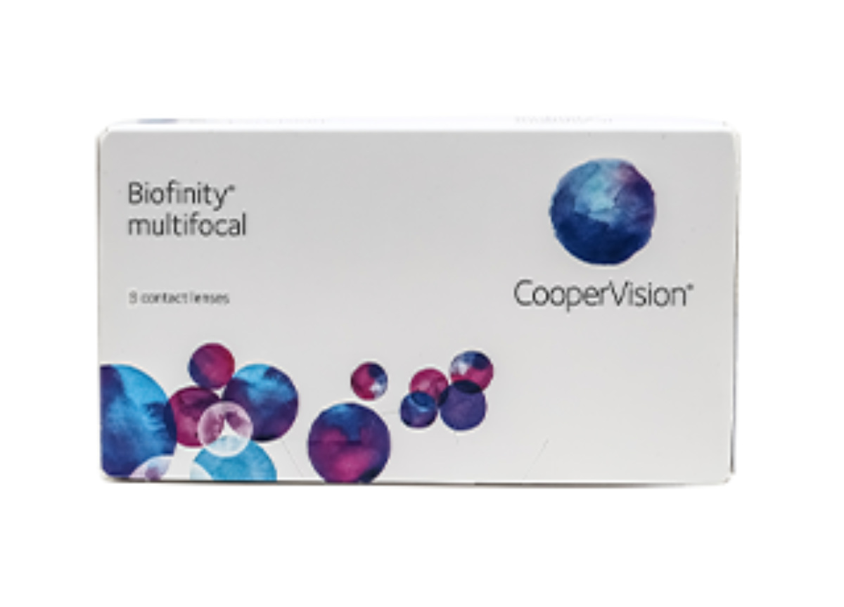 Image of Lenti a Contatto Biofinity Multifocal 3 Pack