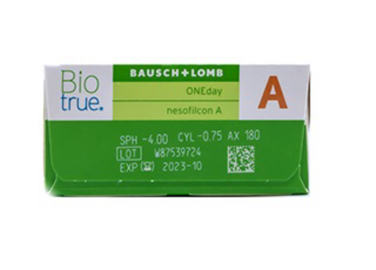 Image of Lenti a Contatto BioTrue ONEDay for Astigmatism 90 pack